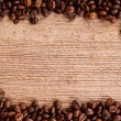 Coffee beans frame — Stock fotografie