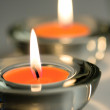 Two candles — Stock Photo #1335829