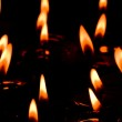Flaming candles — Stock Photo #1905765