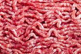 新鲜原料碎的肉 — 图库照片