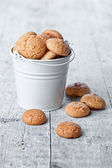 Meringue almond cookies — Stockfoto