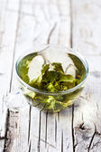 Filiżanka zielonej herbaty — Zdjęcie stockowe