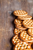 Honey cookies  — Stock Photo