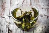 Tasse de thé vert — Photo