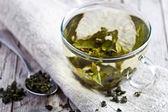 Tazza di tè verde — Foto Stock