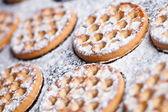 świeży miód ciasteczka — Zdjęcie stockowe
