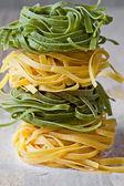 Tagliatelle de pasta italiana — Foto de Stock