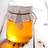Full honey pot  — Stock Photo
