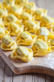 Uncooked tortellini  — Stock Photo
