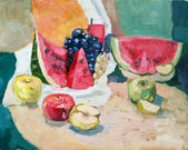 Fruit-piece — Stock Photo