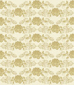 Vintage floral background seamless — Stock Vector