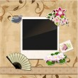 Scrapbook template — Stock Vector #16866165