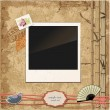 Scrapbook template — Stock Vector