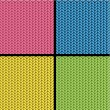Stockvector : Knitted texture seamless