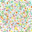 Stock Vector: Cute seamless floral texture