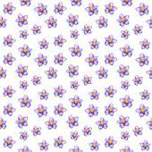 Kwiatowy tekstura z akwarela — Zdjęcie stockowe