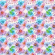 Flower seamless texture watercolor — Stock Photo #31635769