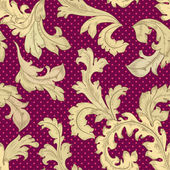 Texture sans couture vintage — Vecteur