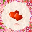 Design greeting cards for Valentine's Day — Vector de stock #39603491