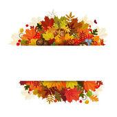 Feliz día de acción de gracias — Vector de stock