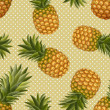 Постер, плакат: Texture of pineapples