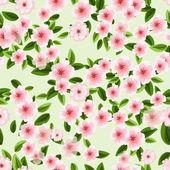 Texture de cherry blossom — Vector de stock