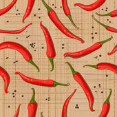Hot pepper texture — Stock Vector