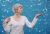 Reina de las nieves — Foto de Stock