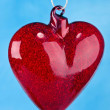 Glass heart — Stock Photo