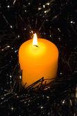 The candle — Foto de Stock