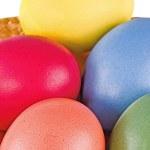 Multi coloured eggs — Stock Photo #27842365