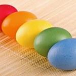 Multi coloured eggs — Stock Photo #27846063
