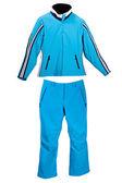 Bright ski Sports suit — Stock Photo