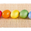 Stock Photo: Multi coloured eggs