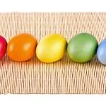 Multi coloured eggs — Stock Photo #27851321