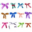 Set of color bows — Stock Photo #27852449