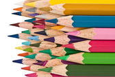 Multi-coloured pencils — Stock Photo