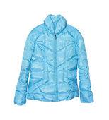 蓝色女外套 — 图库照片