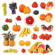 Set of fruits and vegetable  — Stock Photo