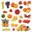 Set of fruits and vegetable  — Stockfoto