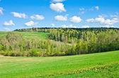 Cercanías de moscú en la primavera — Foto de Stock