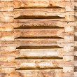 Logs, a house felling close up — Stock Photo