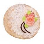 Pie on white — Stock Photo