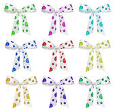 Colourful bows — Stock Photo