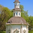 Chapel of the Pjatnitsky Well in Sergiev Posad, one of cities of Golden Ring of Russia — Stock Photo #27940285