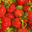 Stock Photo: Background from a strawberry