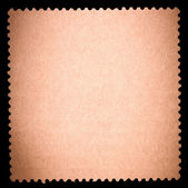 Blank stamp, black borde — Stock Photo