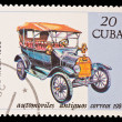 CUBA - CIRCA 1984: A stamp printed in the CUBA, image old car, Automoviles antiguos Ford mod.T ( Tin Lizzie) 1908, circa 1984 — Stock Photo