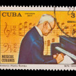 CUBA - CIRCA 1977: A stamp printed in the CUBA, shows Antonio Maeia Romeu 1876-1955,  circa 1977 — Stock Photo