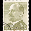 FEDERAL REPUBLIC OF GERMANY - CIRCA 1969: A stamp printed in the Federal Republic of Germany shows Walter Ulbricht, First Secretary of the Socialist Unity Party from 1950 to 1971, circa 1969 — Stock Photo #28007129